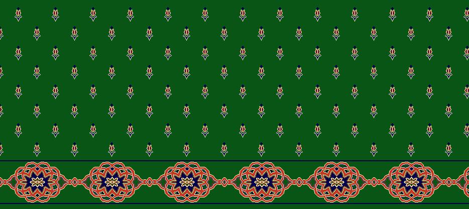 Safli Cami Halisi Model 1240 - Yeşil