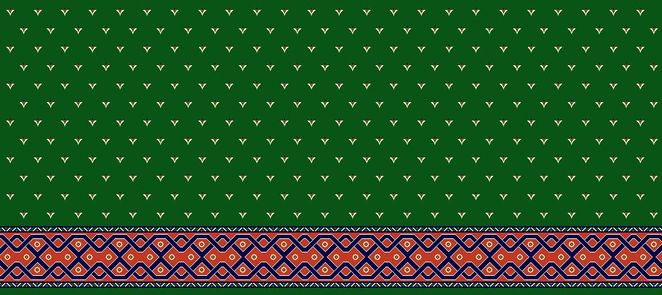 Safli Cami Halisi Model 1250 - Yeşil