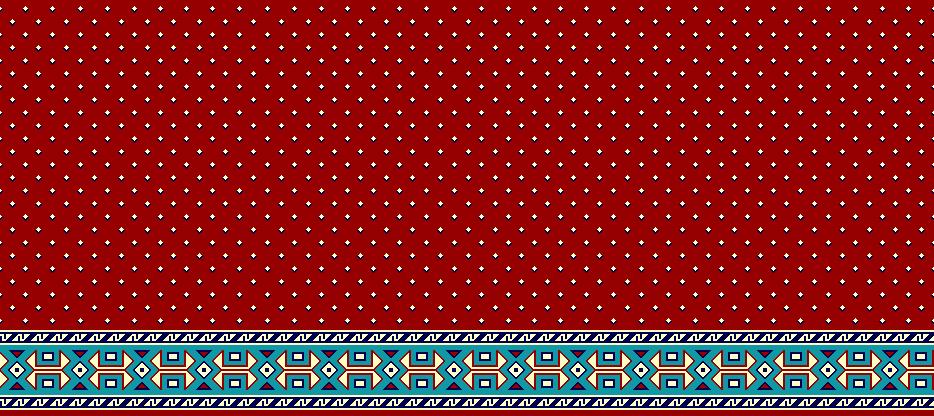 Safli Cami Halisi Model 1270 - Kırmızı