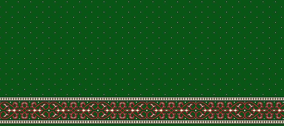 Safli Cami Halisi Model 1280 - Yeşil