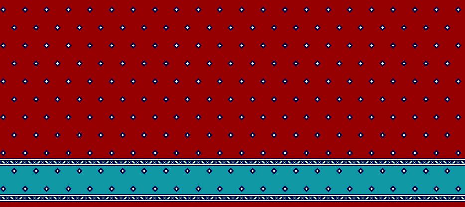 Safli Cami Halisi Model 1300 - Kırmızı