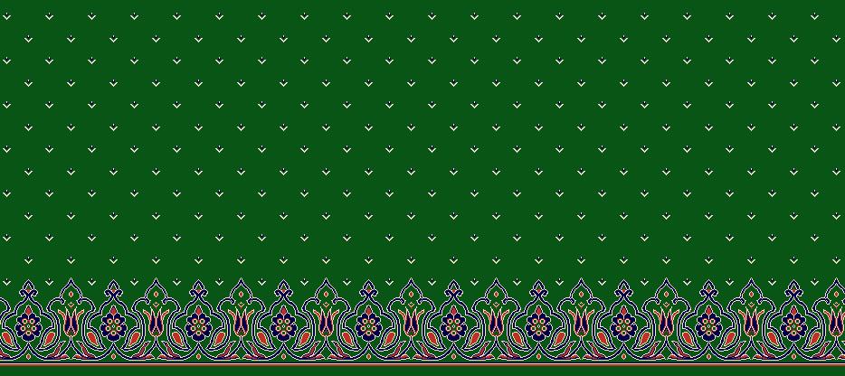 Safli Cami Halisi Model 1310 - Yeşil