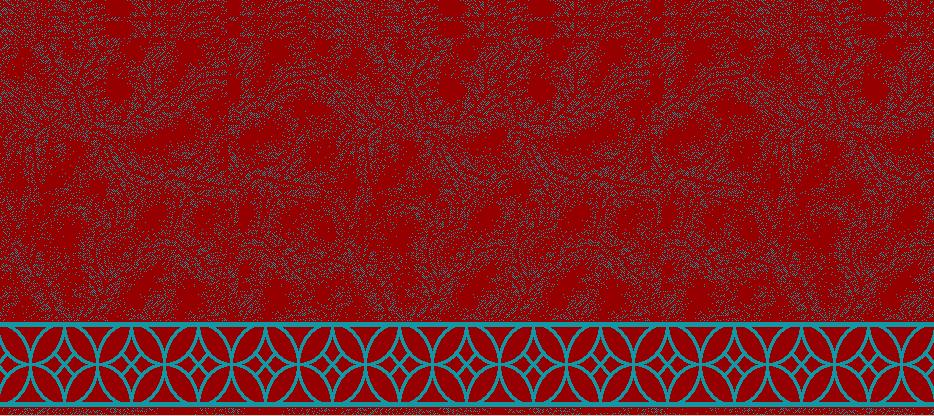 Safli Cami Halisi Model 1320 - Kırmızı