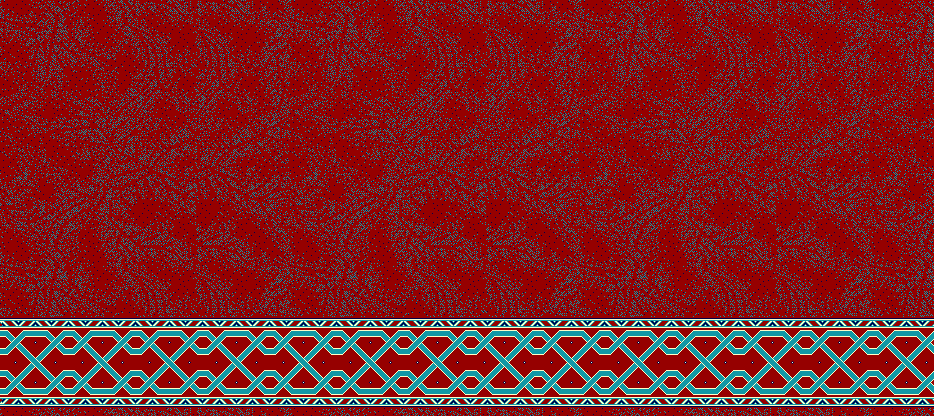 Safli Cami Halisi Model 1345 - Kırmızı