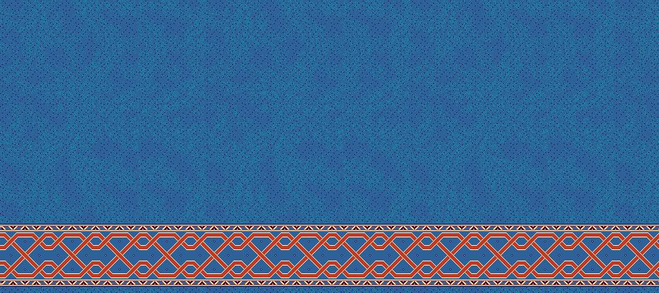 Safli Cami Halisi Model 1345 - Mavi