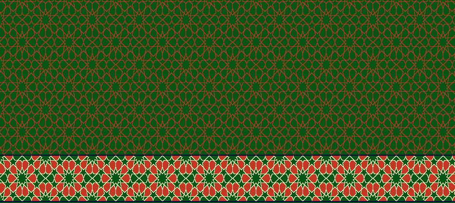 Safli Cami Halisi Model 1360 - Yeşil
