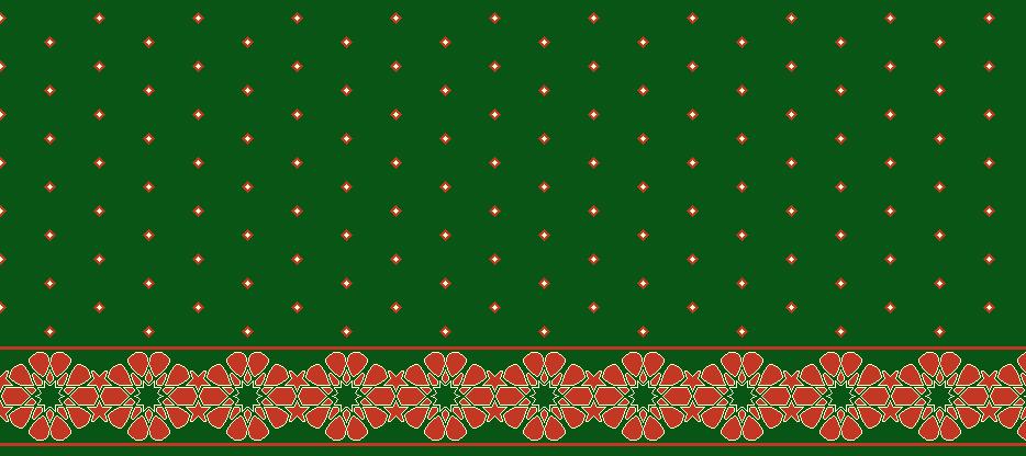 Safli Cami Halisi Model 1370 - Yeşil