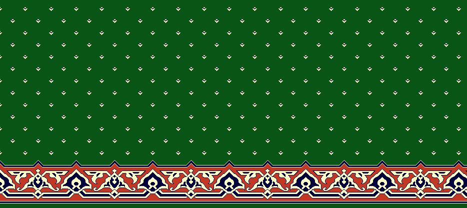 Safli Cami Halisi Model 1400 - Yeşil