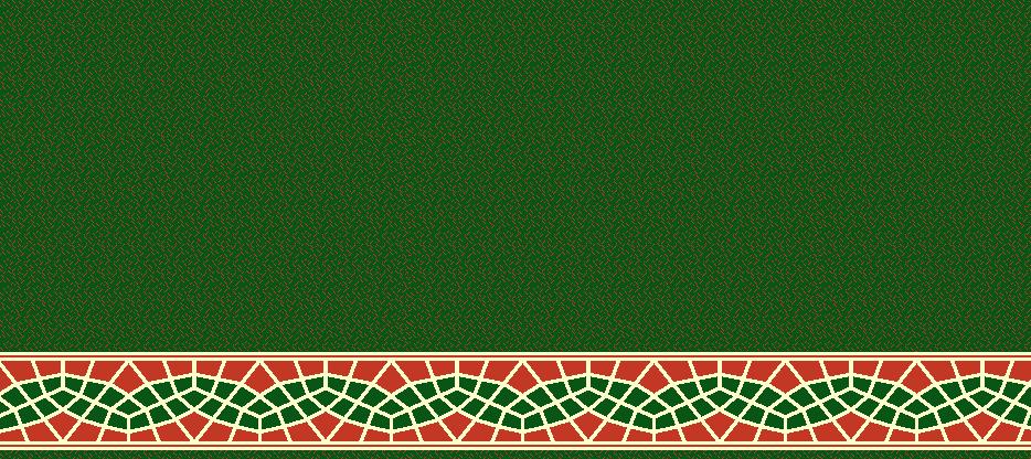 Safli Cami Halisi Model 1410 - Yeşil