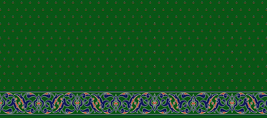 Safli Cami Halisi Model 1420 - Yeşil