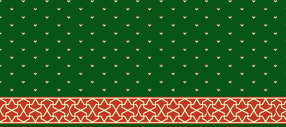 Safli Cami Halisi Model 1450 - Yeşil