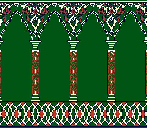 Seccadeli Hali Model 2020 - Yeşil